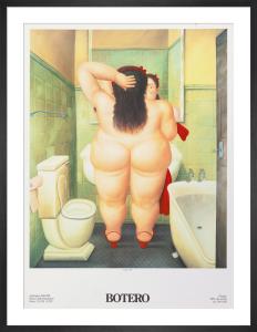 Il Bagno, 1989 by Fernando Botero