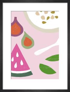 Pink Breakfast by Ana Zaja Petrak