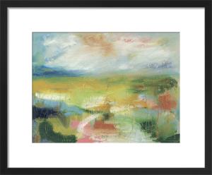 A Green Landscape by Lesley Birch