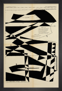 Lost Gardens No.1 (black) by Hormazd Narielwalla