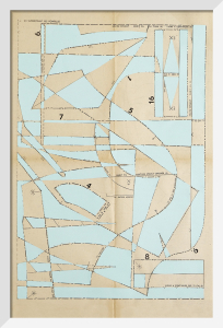 Lost Gardens No.5 (duck egg blue) by Hormazd Narielwalla
