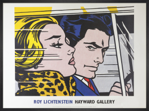 In The Car, 1963 by Roy Lichtenstein