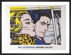 In The Car, 1963 by Roy Lichtenstein