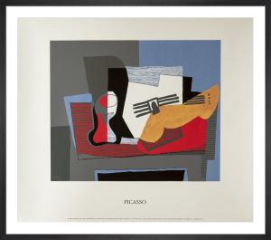 Nature Morte a la Guitare, 1922 by Pablo Picasso