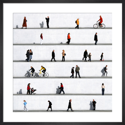 Wall People Detail No.6 by Eka Sharashidze
