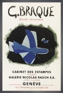 Cabinet des Estampes, 1958 by Georges Braque