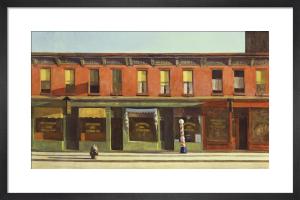 Early Sunday Morning, 1930 by Edward Hopper