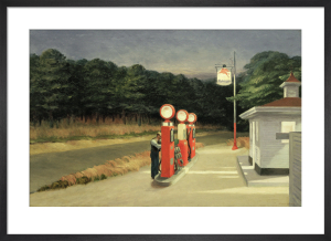 Gas,1940 by Edward Hopper