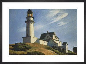 Lighthouse at Two Lights, 1929 by Edward Hopper