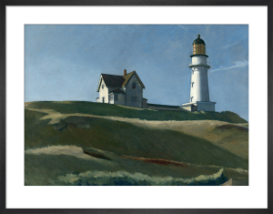 Lighthouse Hill,1927 by Edward Hopper