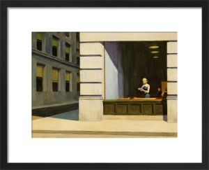 New York Office, 1962 by Edward Hopper