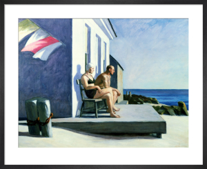 Sea Watchers, 1952 by Edward Hopper