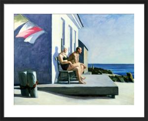 Sea Watchers, 1952 by Edward Hopper