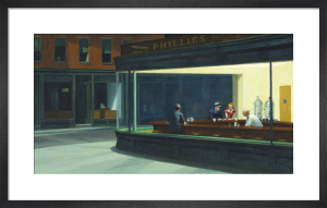 Nighthawks, 1942 by Edward Hopper