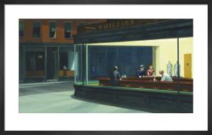 Nighthawks, 1942 by Edward Hopper