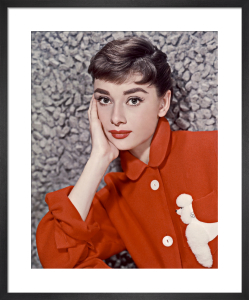 Audrey Hepburn by Hollywood Photo Archive
