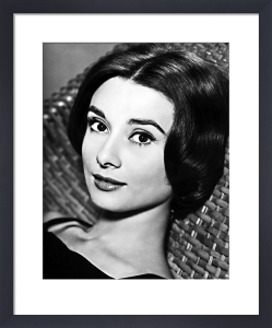 Audrey Hepburn - Love In The Afternoon by Hollywood Photo Archive