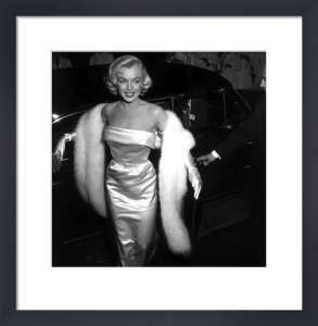 Marilyn Monroe - Academy Awards, 1958 by Hollywood Photo Archive