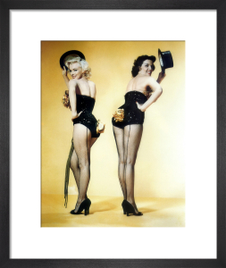 Marilyn Monroe and Jane Russell - Gentlemen Prefer Blondes by Hollywood Photo Archive