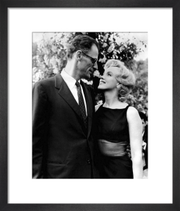 Marilyn Monroe with Arthur Miller by Hollywood Photo Archive