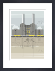 London Battersea Power Station by Linescapes