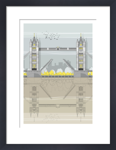 London Tower Bridge by Linescapes