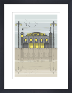 Brighton Pier by Linescapes