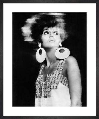 Vogue April 1966 by Ronald Traeger
