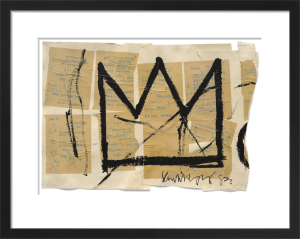 Untitled (Crown), 1982 by Jean-Michel Basquiat