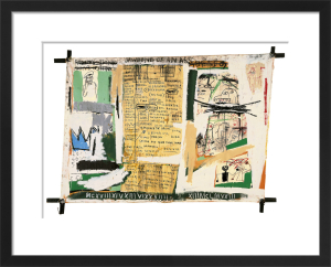 Jawbone of an Ass, 1982 by Jean-Michel Basquiat