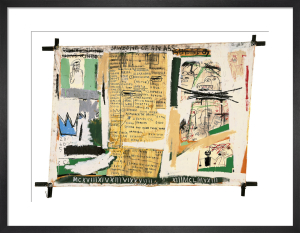 Jawbone of an Ass, 1982 by Jean-Michel Basquiat