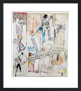 Leonardo da Vinci's Greatest Hits, 1982 by Jean-Michel Basquiat