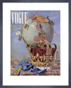 Vogue April 1937 by Pierre Roy