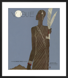 Vogue January 1933 by Eduardo Benito