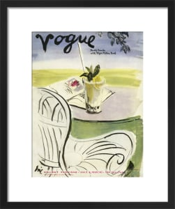 Vogue July 1938 by Georges Lepape