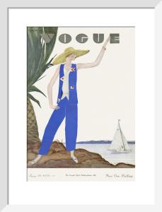 Vogue June 1929 by Georges Lepape