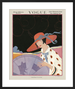 Vogue Late February 1917 by Helen Dryden
