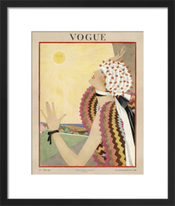 Vogue Late July 1922 by George Wolfe Plank