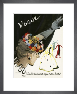 Vogue March 1937 by Rene Bouet-Willaumez