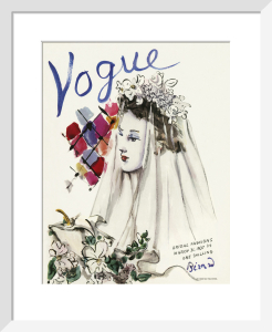 Vogue March 1937 by Christian Bérard