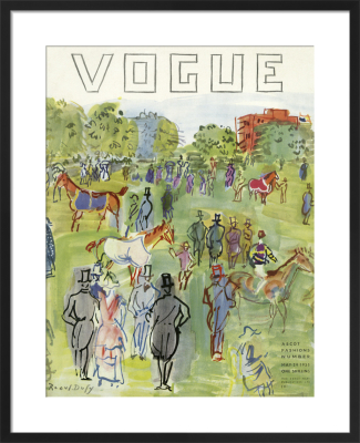 Vogue May 1935 by Raoul Dufy