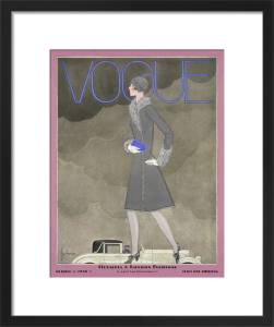 Vogue October 1928 by Georges Lepape