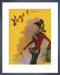Vogue September 1937 by Christian Bérard