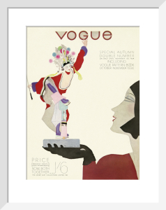 Vogue September 1929 by Pierre Mourgue