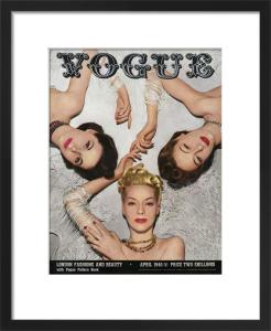 Vogue April 1940 by Horst P. Horst