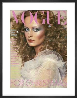 Vogue December 1974 by Barry Lategan