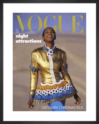 Vogue December 1987 by Patrick Demarchelier