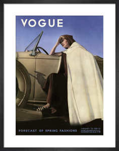 Vogue January 1935 by George Hoyningen-Huene