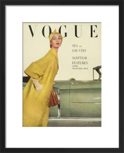 Vogue July 1950 by John Rawlings