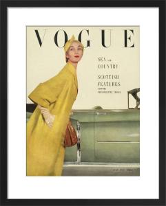 Vogue July 1950 by John Rawlings